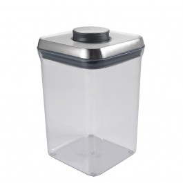 Pote Inox Pop Quadrado 3,8L 4080570407 M Shop.